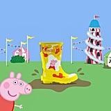 Hunter x Peppa Pig Rain Boots — Yellow