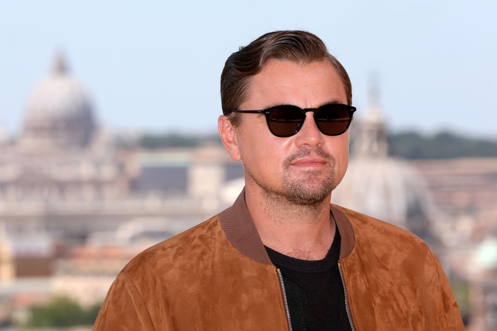 Leonardo DiCaprio at the Once Upon a Time in Hollywood photocall in Rome.