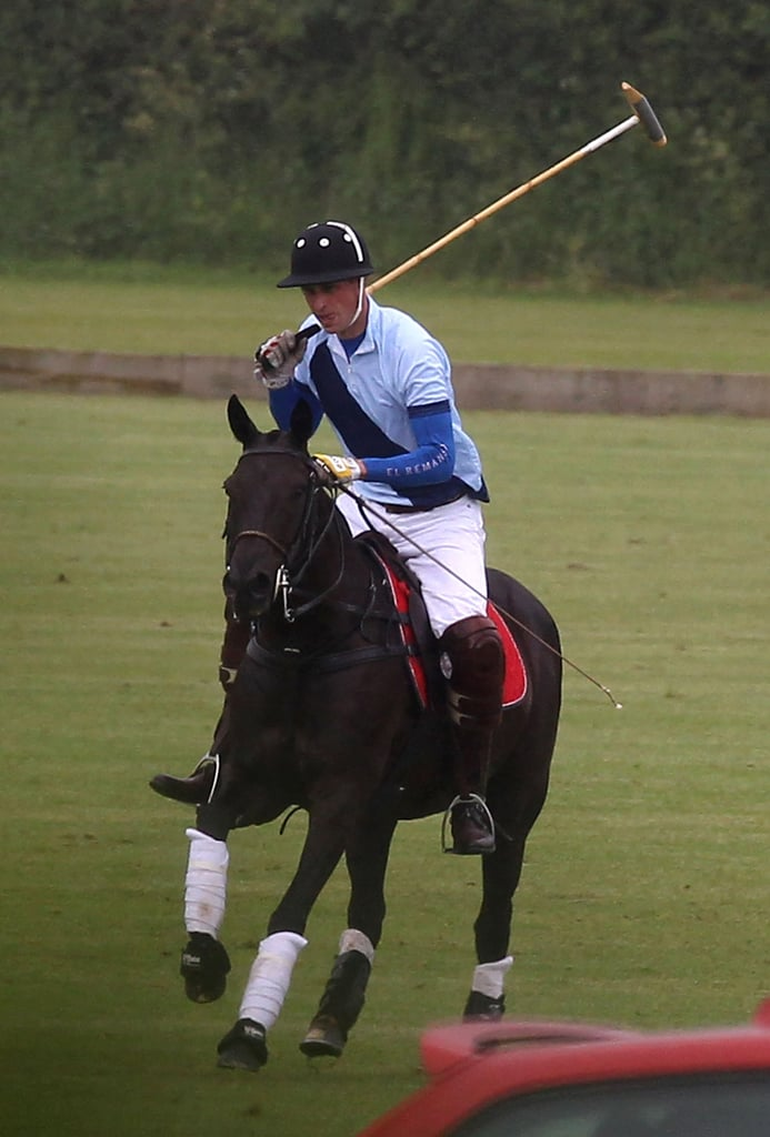 princes william and harry polo match pictures popsugar. Black Bedroom Furniture Sets. Home Design Ideas