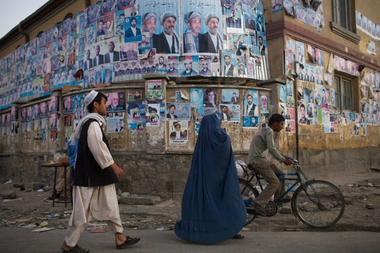 Front Page: Afghanistan Prepares For Elections