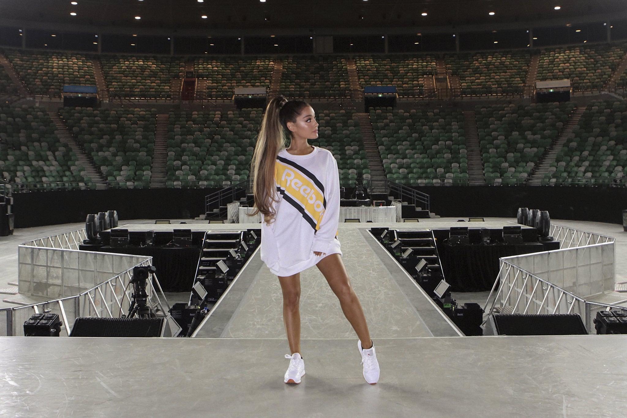Reebok Signs Ariana Grande