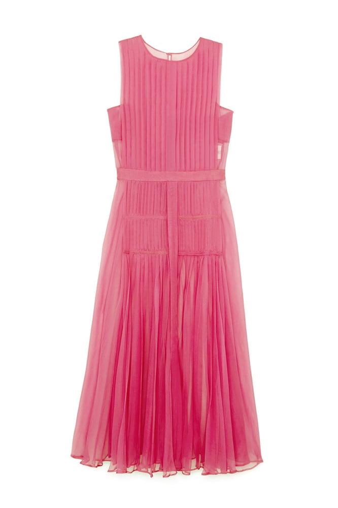 Nº21 Pleated Chiffon Dress