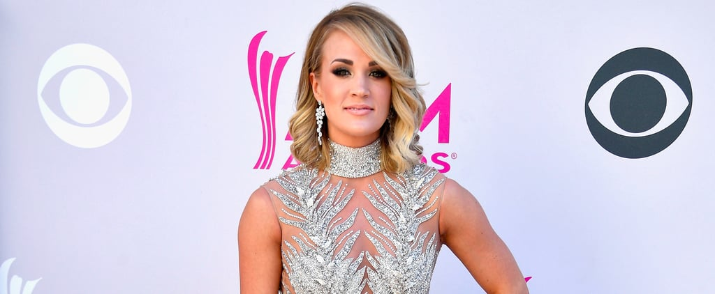 Carrie Underwood Steps Out at the ACMs Looking Like Some Sort of Angelic Dream
