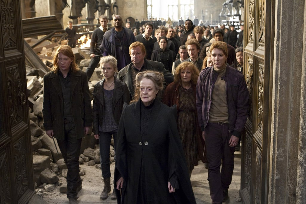 Battle of hogwarts 18th anniversary tributes popsugar tech for Anne gellert