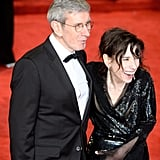 Pictured: Sally Hawkins and guest