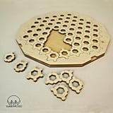 Honeycomb Wooden Fractal Jigsaw Puzzle