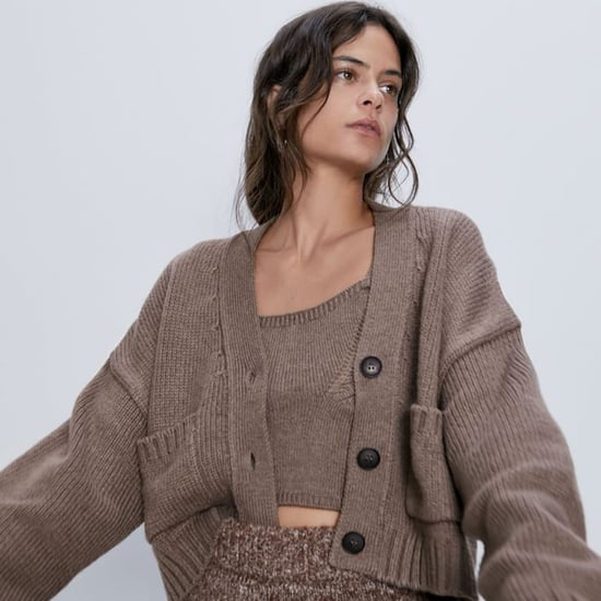 How to Wear a Cardigan Sweater Set Like Katie Holmes
