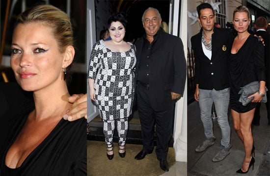 Photos of Kate Moss and Jamie Hince at the Launch of Beth Ditto's Evans Collection in London