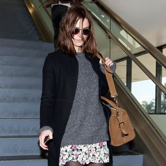 Keira Knightley Wearing Floral Skirt
