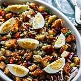 Stuffing Salad With Warm Sweet Onion Dressing