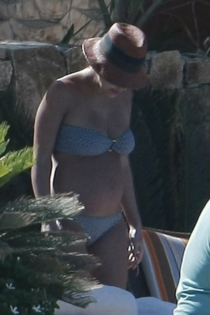 Jessica Alba Slips On a New Bikini to Lounge Poolside With Honor