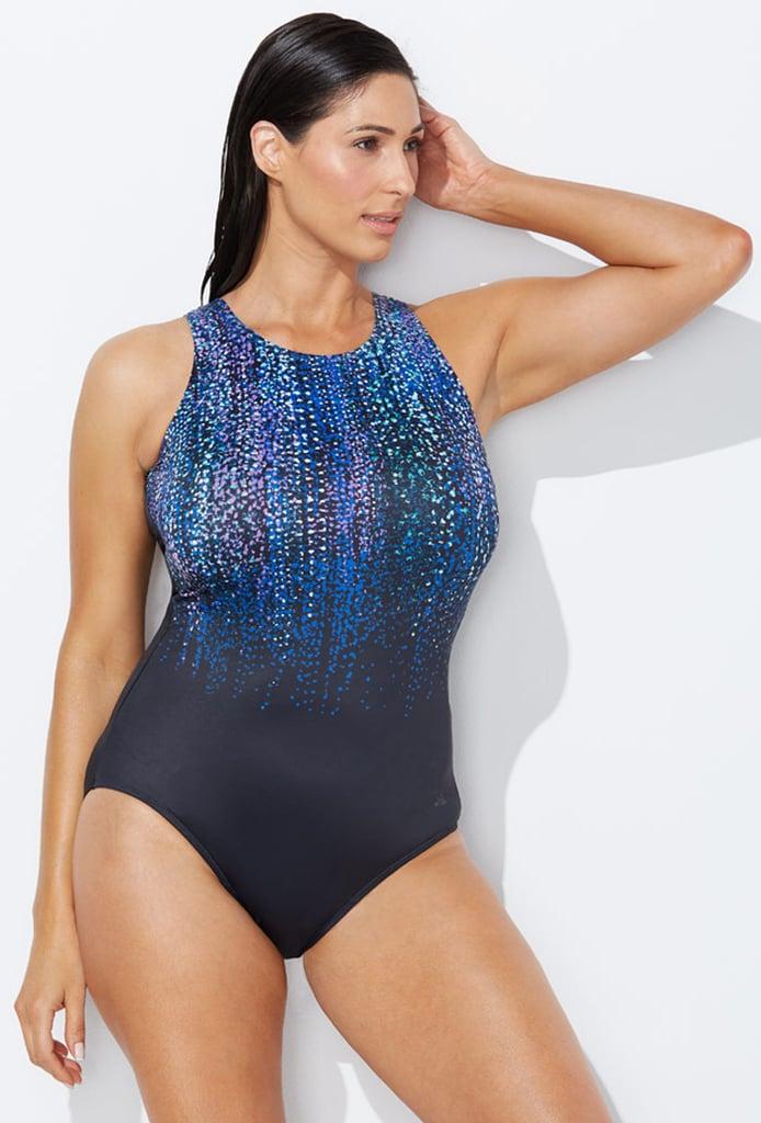 Chlorine Resistant Gemfall High-Neck Swimsuit