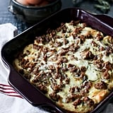 Goat Cheese and Sausage Breakfast Casserole