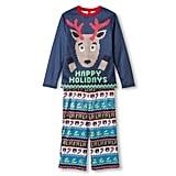 Kids' Holiday Ugly Sweater Pajama Set