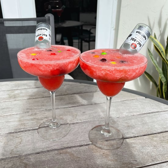 Strawberry Skittles Bomb Daiquiri Recipe and Photos