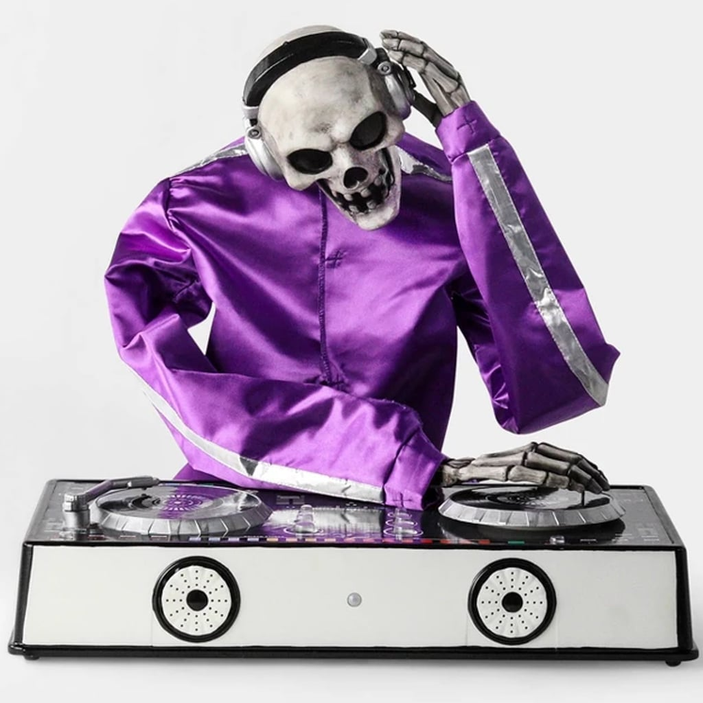 Target's Animated DJ Skeleton Decorative Halloween Prop