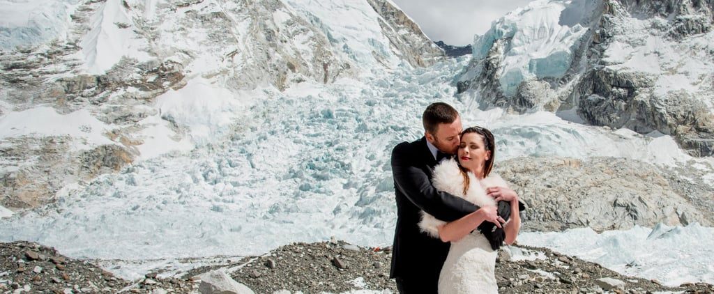 Till Death-Defying Climb Do Us Part — Couple Weds on Mt. Everest