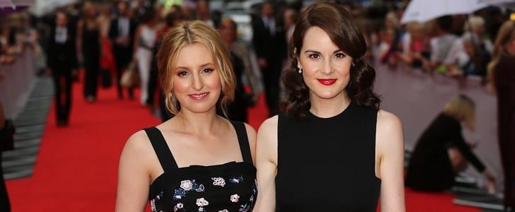 Downton Abbey Stars on the Red Carpet 2015
