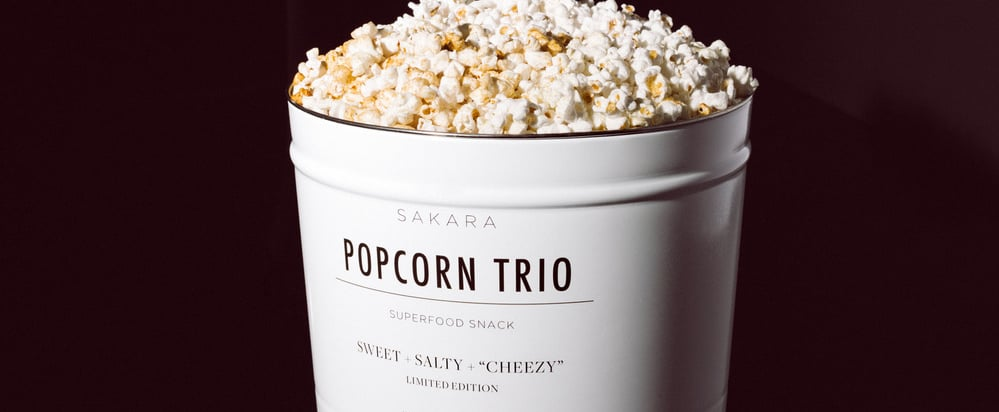Sakara Life Holiday Popcorn Trio Review