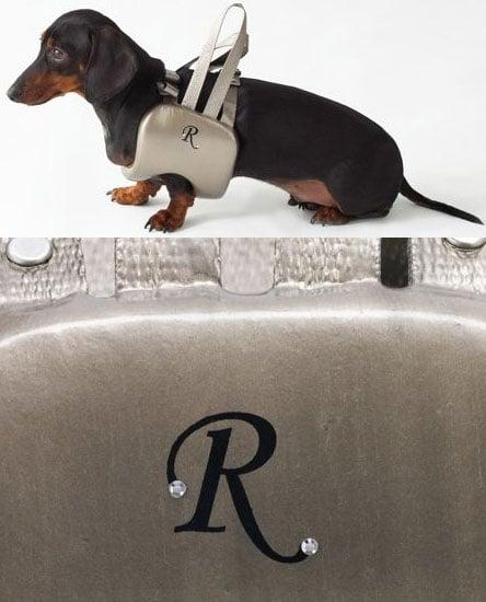 Monogrammed Dog Life Vest