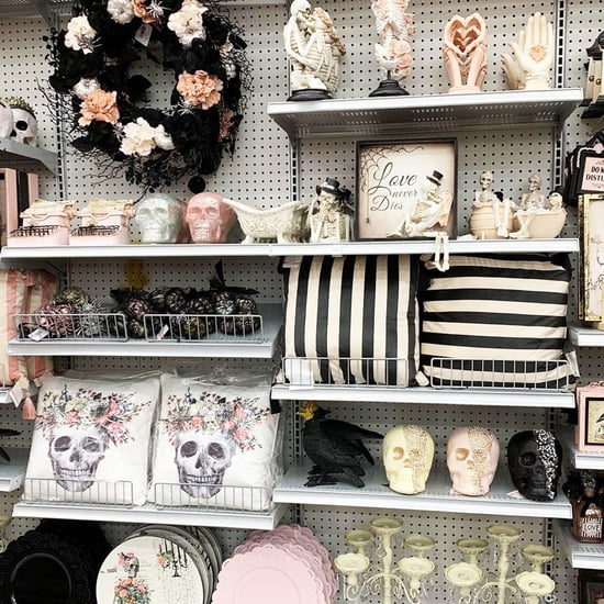 See Michaels Pastel Goth Halloween Decorations