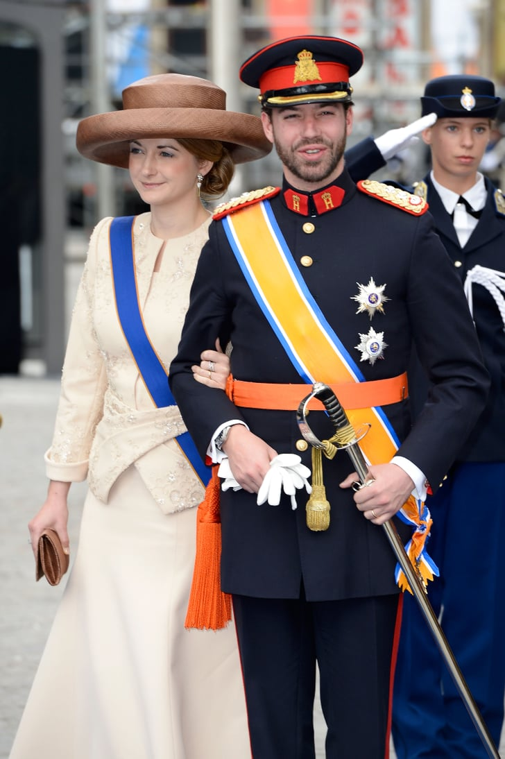 princess stephanie and prince guillaume of luxembourg