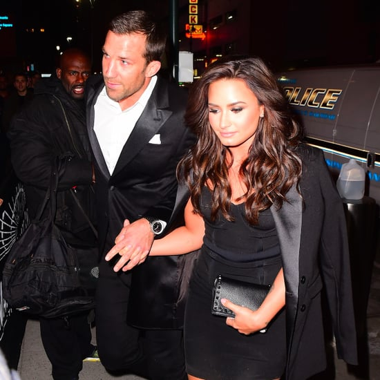 Demi Lovato Holding Hands With Luke Rockhold November 2016