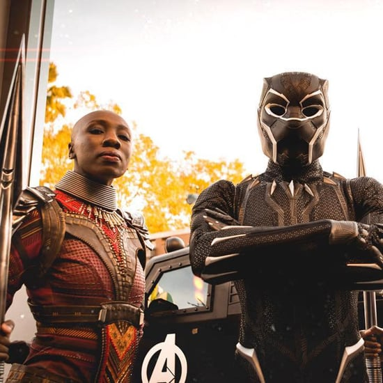 Black Panther Characters at Disneyland