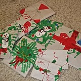 Handprint Christmas Paper