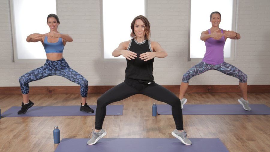 30-Minute Selena Gomez Workout For Flat Abs and Toned Legs