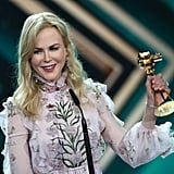March: Nicole Won the Golden Camera Award For Best International Actress