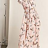 Forever 21 Satin Floral Maxi Dress