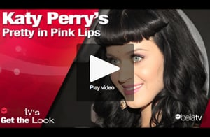 Katy Perry Pink Lipstick Tutorial