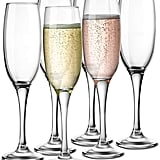 KooK Premium Clear Glass Champagne Flutes