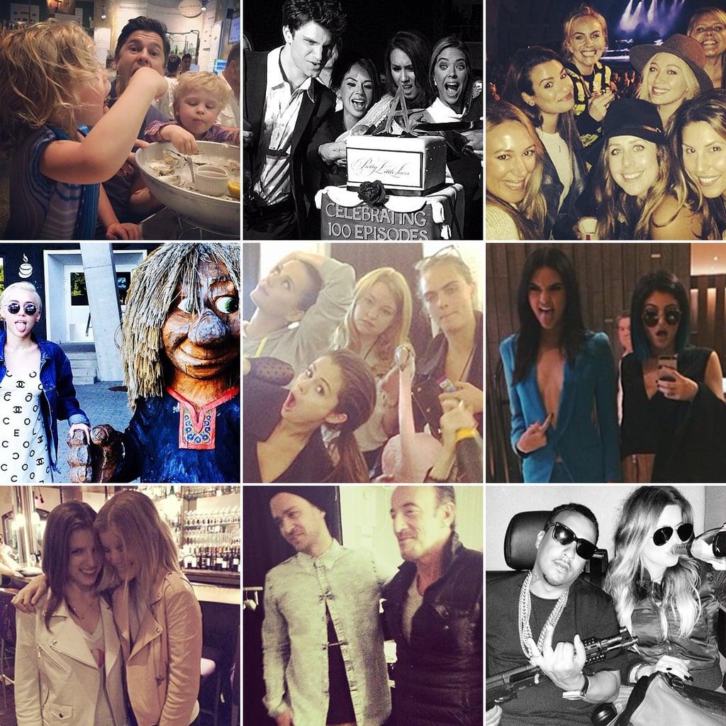 Celebrity Instagram Pictures Week June 6, 2014