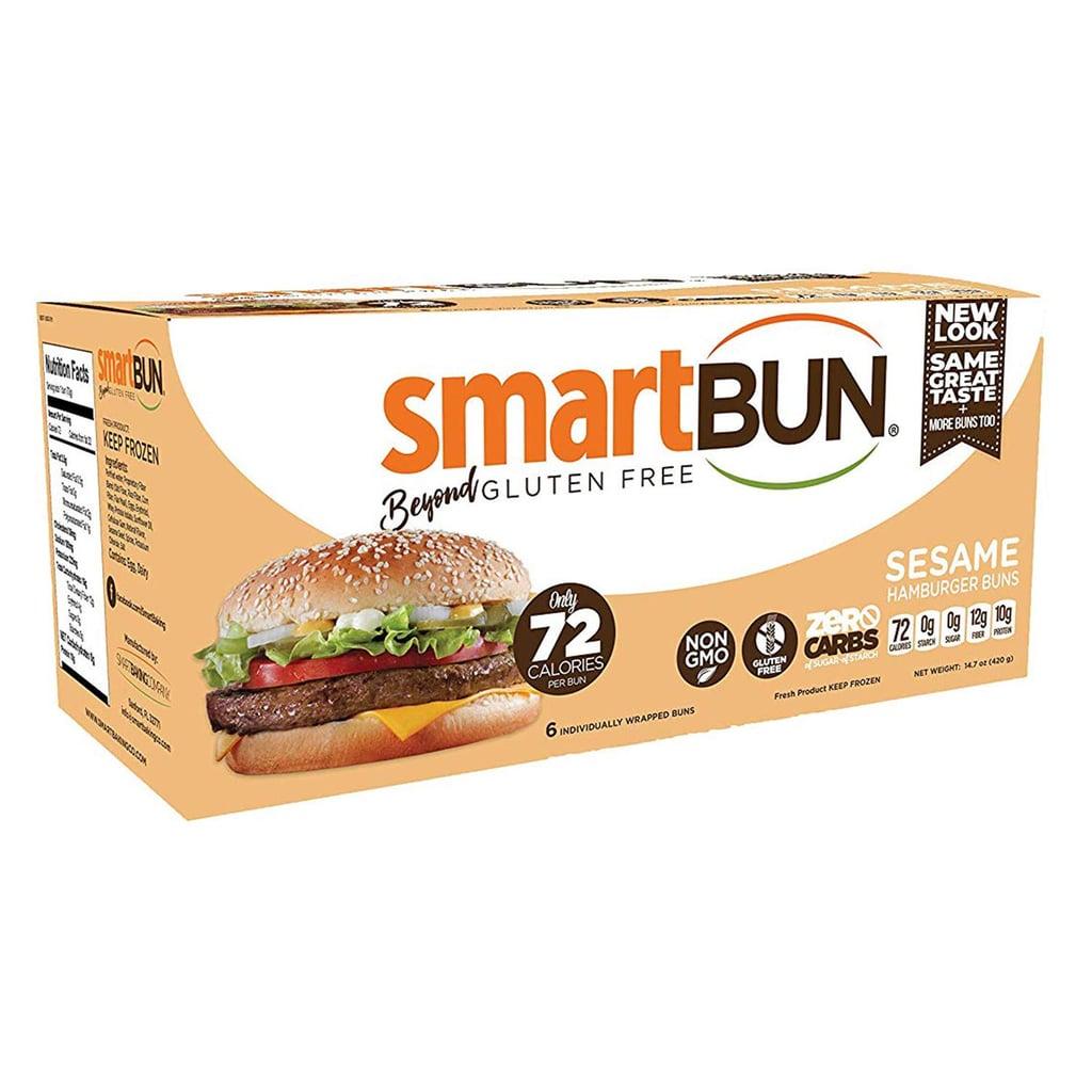 SmartBun Keto Sesame Hamburger Buns