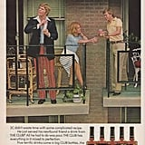 Pre-mixed cocktails will help lazy guys get the girl, according to this 1976 ad.