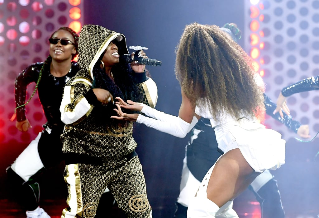 "Ciara returned to the American Music Awards stage on Tuesday night for the first time since 2005, and damn did she make a hell of a comeback! Joined by the iconic Missy Elliott, Ciara performed her hit single ""Level Up,"" which went viral after spawning the Level Up challenge. As amazing as those challenges were, Ciara's performance proves that you just can't beat the original. From Missy's fiery verse to Ciara's outrageously sexy moves, the performance was nothing short of show-stopping. Watch their electrifying performance ahead!      Related:                                                                                                           Ciara and 4-Year-Old Son Future Zahir Make a Dynamic Duo at the American Music Awards"