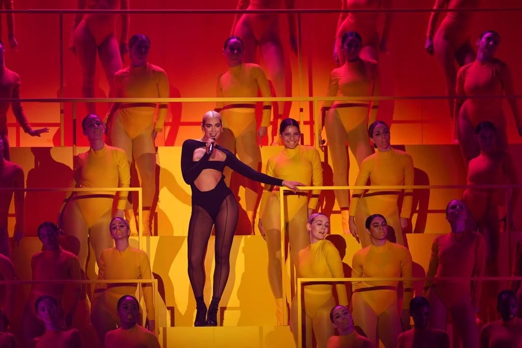 "Dua Lipa Performing ""Don't Start Now"" at MTV EMAs | Video"