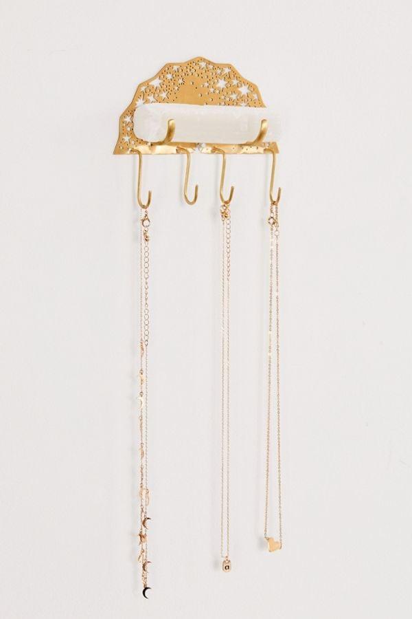 Ariana Ost Selenite Jewelry Hanger