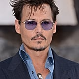 Johnny Depp: The Skinny 'Stache Beard