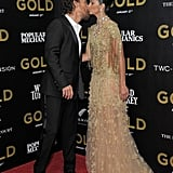 Matthew McConaughey Camila Alves at NYC Gold Premiere 2017