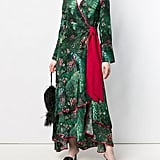 FRS For Restless Sleepers Printed Wrap Kimono Dress