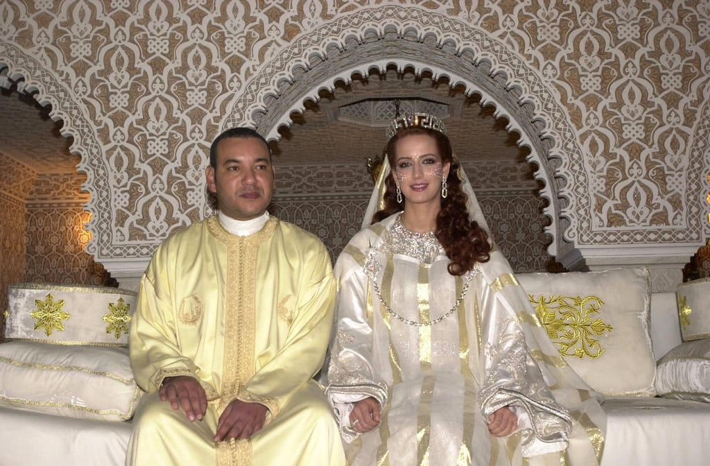 King Mohammed VI and Salma Bennani