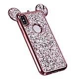 Glitter Mickey Ears Case