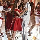 Olivia Rodrigo and Joshua Bassett on High School Musical: The Musical: The Series
