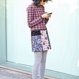 Julia Sarr-Jamois mixes prints like a pro.