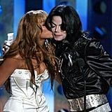 Beyoncé shared the love with Michael at the 2003 Radio Music Awards show in Las Vegas.