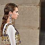 كانت المجوهرات أيضاً مستوحاة من حضارة مصر القديمة