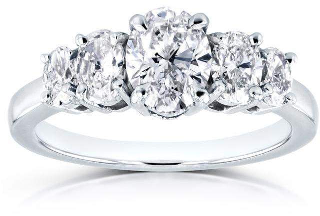 Kobelli Jewelry 5-Stone Engagement Ring
